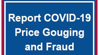 Complaints against price gouging can be registered online on the attorney general's website.