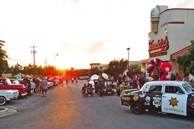 Freddy's hosts a classic car cruise-in four times a year.