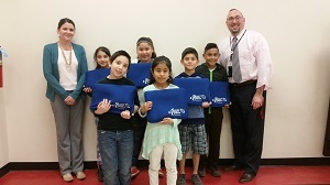 Edwardsville-based Scott Credit Union is providing laptop sleeves to students at Kreitner Elementary School in Collinsville and St. James Catholic School in Millstadt.