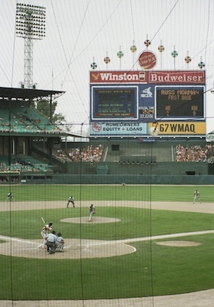 Comiskey Park was home to the first Major League All-Star Game.