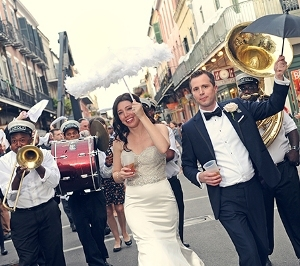A special street closure for a New Orleans-style wedding processional on June 11 was approved.