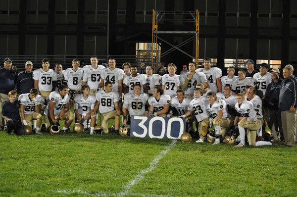 The 2015 Marquette Academy football team went 13-1.