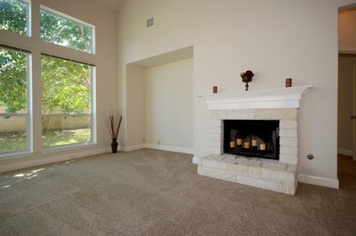 Light staging can make a home look more desirable to buyers. Staging done by Kimberly Stapleton.