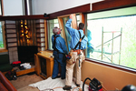 Replacing large windows is a big job with a lot of potential risks.