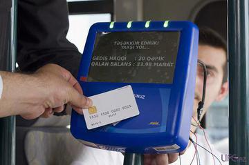 Azerbaijan bus riders will now be able to pay fares using prepaid cards.