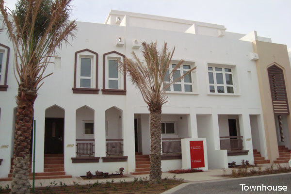 A three bedroom, four bathroom townhouse is available in Ras El Mar.