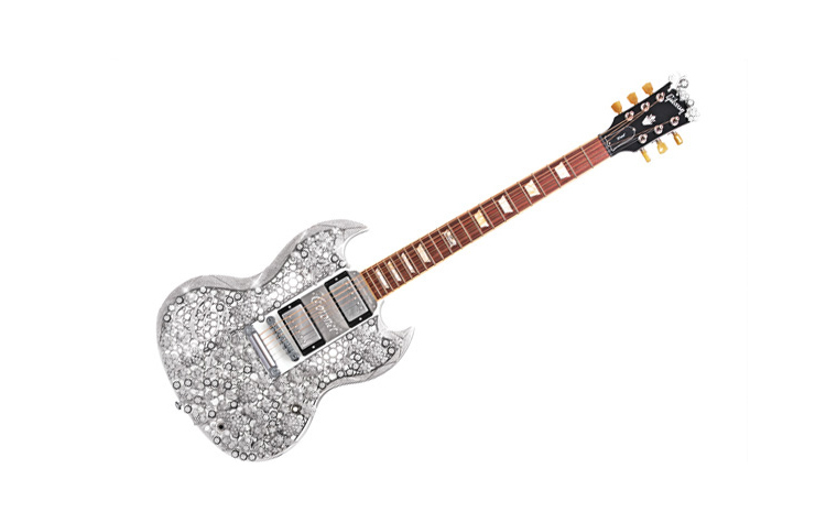 2 million diamond guitar sets world record gulf news