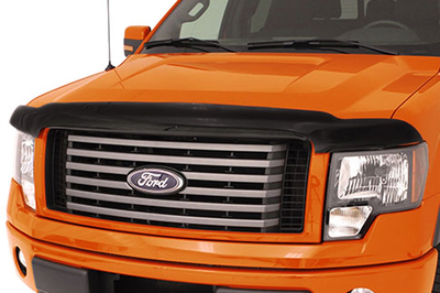 The AVS Bugflector is an easy way to protect a vehicle's finish from airborne objects.
