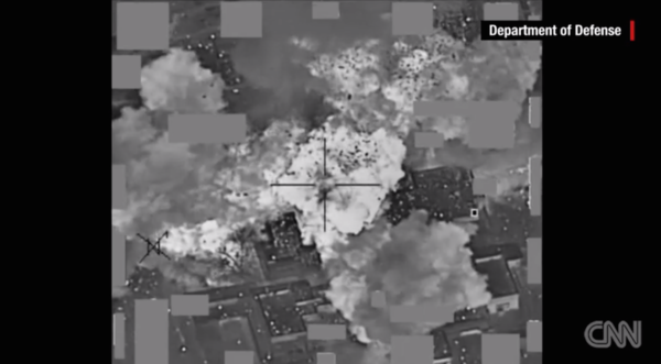 ISIS cash blown up by U.S. recent airstrike