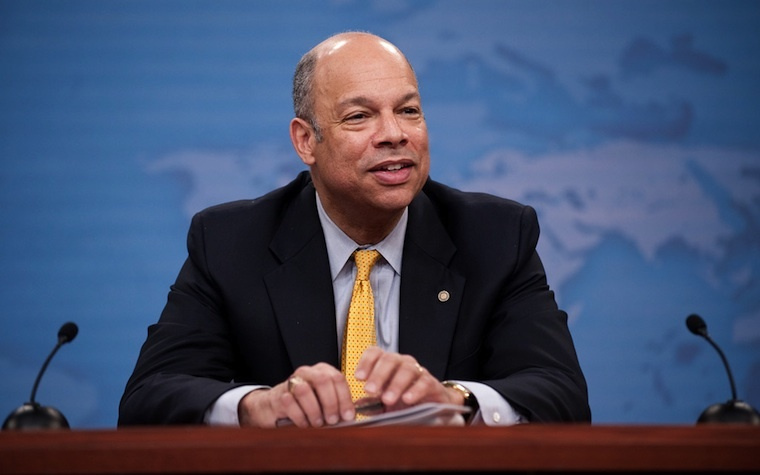 Department of Homeland Security Secretary Jeh C. Johnson