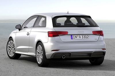 The A3 will be available with a new 1.0-liter three-cylinder engine. It boasts 148 pound-feet of torque at just 2,000 revs per minute.
