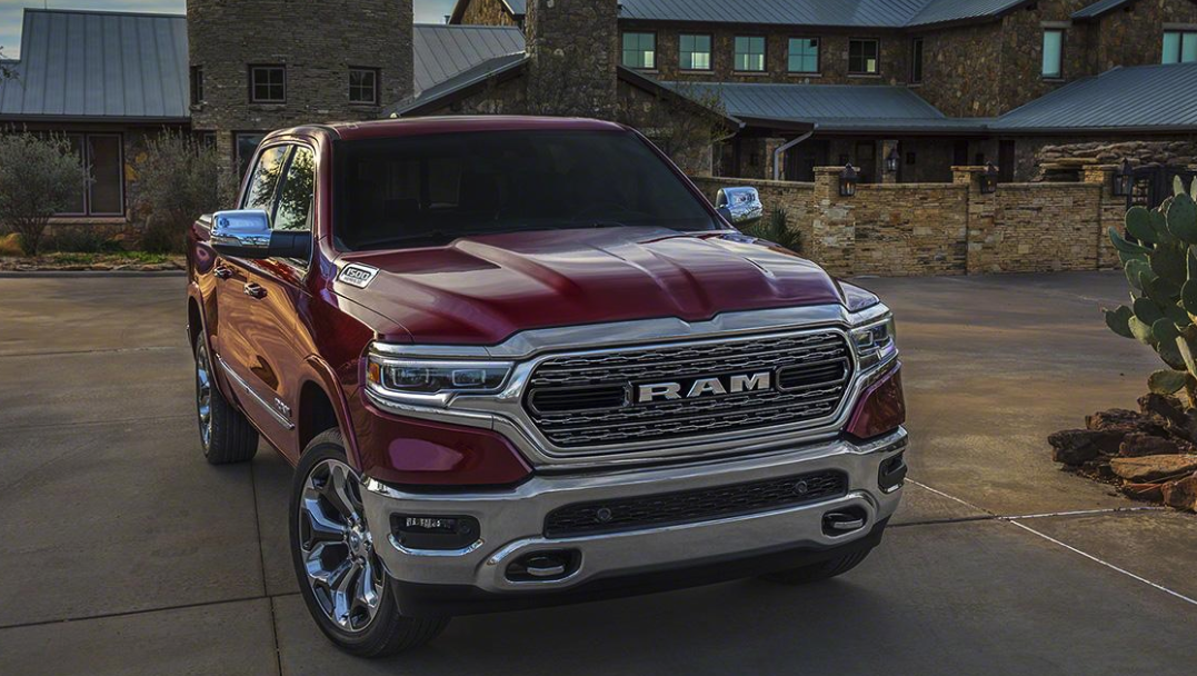 The 2019 Ram is equipped with a 99 percent high-strength steel frame.