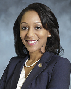 Illinois Department of Veterans Affairs Director Erica Jeffries