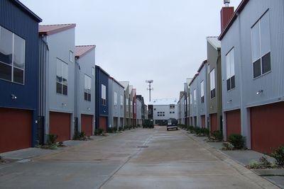 Medium townhome