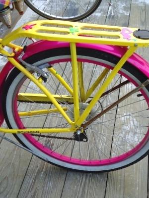 Bicycle colorful schwinn