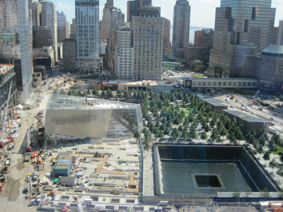The Sept. 11 Memorial and Museum at the World Trade Center site.