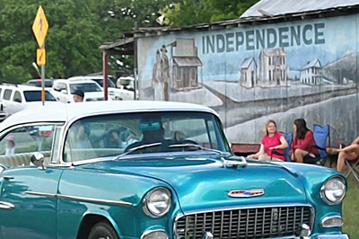 Residents in Independence see a lot of classics cruising through their neck of the woods and are inviting them to stop by for a show Saturday.