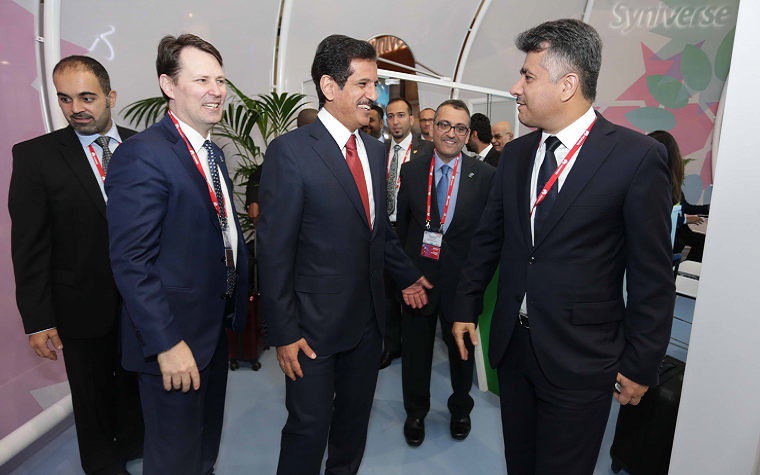 Bahrain Minister of Transportation and Telecommunications Kamal bin Ahmed and Zain Group leaders discussed the future of telecom in Spain.