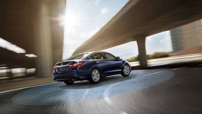 The 2018 Nissan Altima has some high-tech safety features included on all trim levels.
