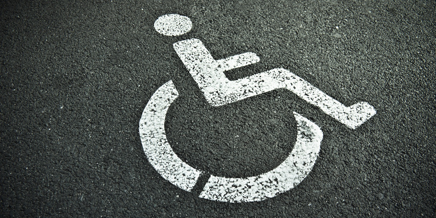 Handicapped sign 05