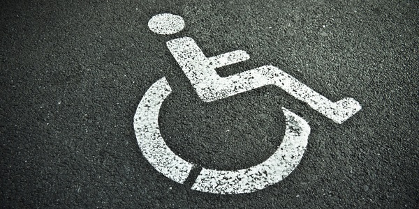 Large handicapped sign 05