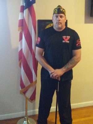 Lockport VFW Post 5788 Commander Ernest Errico