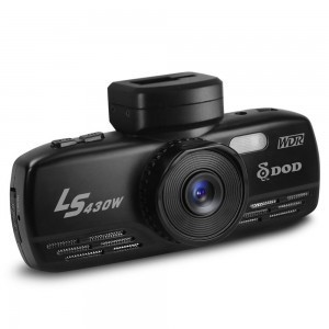 The DOD LS430W dash cam sells for about $270.