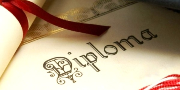 Large diploma la