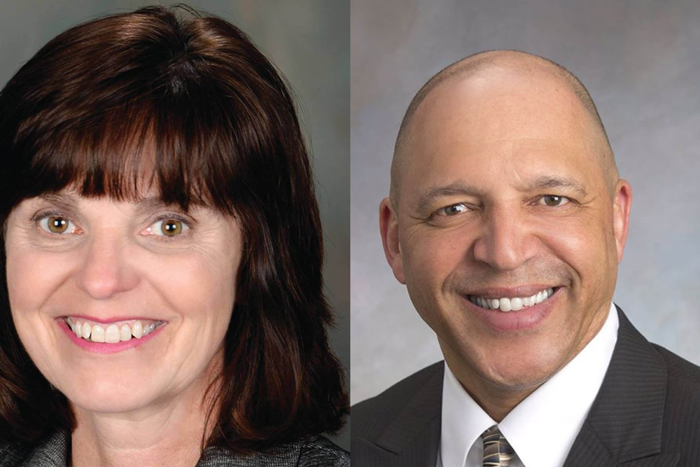 Incumbent Democrat state Rep. Sue Scherer beat Republican challenger Herman Senor.