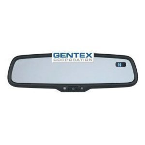 The Gentex GENK5AM Auto-Dimming Mirror detects and reduces glare automatically.