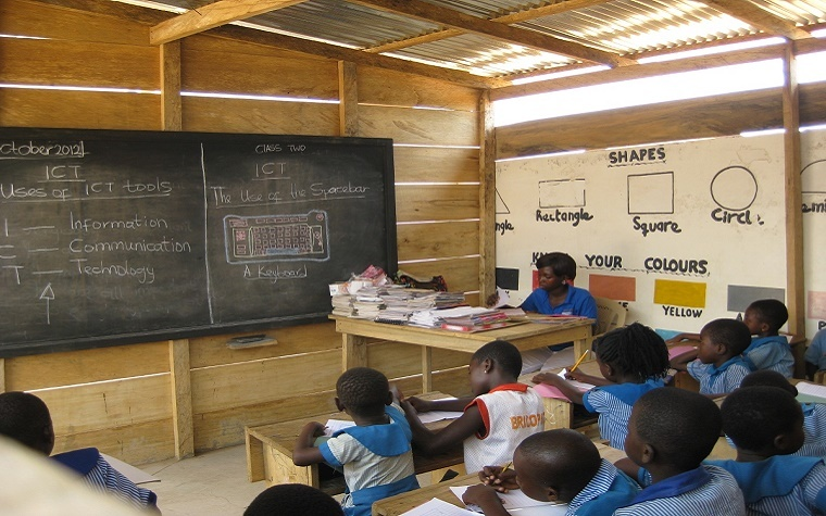 USAID's programs in Ghana have increased access to basic education in many regions.