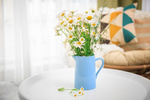 Branch out from roses and explore other floral arrangements when decorating.
