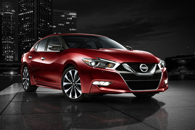 The 2017 Nissan Maxima 3.5 Platinum includes modern technology and fuel efficiency.