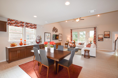 Floorplans in M/I's Wolf Ranch community range from 1,825 to 2,824 square feet.
