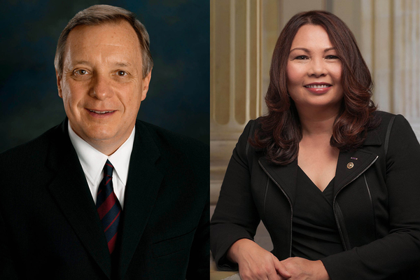 U.S. Sen. Dick Durbin (D-IL) and U.S. Sen. Tammy Duckworth (D-IL)