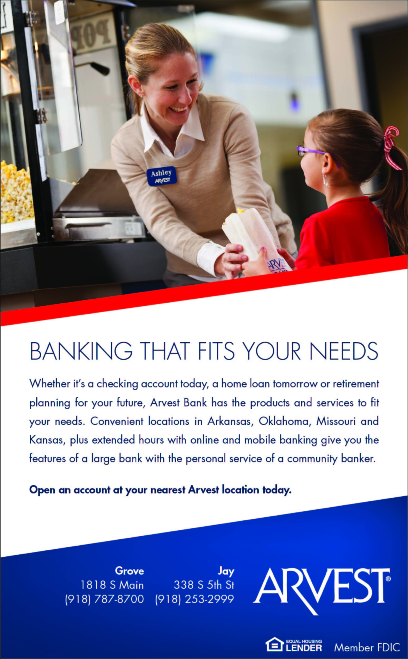 ARVEST Bank | Bixby Guide