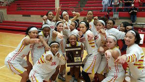 Rock Island High School girls basketball ends season with loss in sectional.