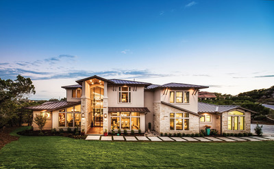 A new model featuring a contemporary Hill Country style boasting 4,000 square feet and four bedrooms is open to tour at The Canyons at Lake Travis.