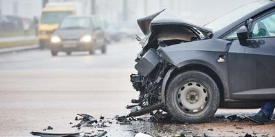 Medium car accident 37