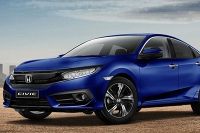 Aegean Blue Metallic is one of eight new colors that the 2019 Honda Civic is available in.