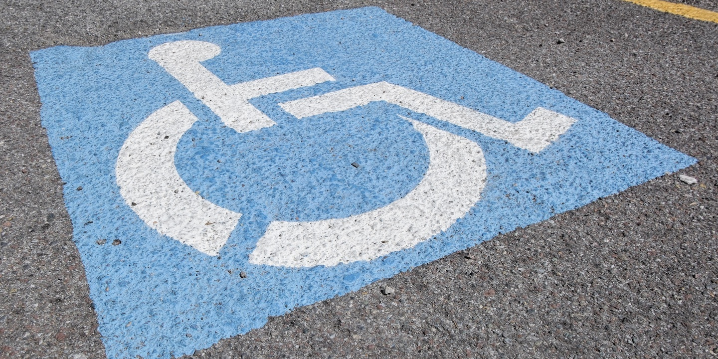 Handicapped sign 03
