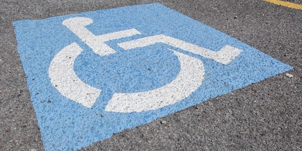Large handicapped sign 03