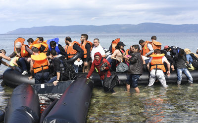 Refugee crisis constricts economies in Middle East, North Africa.