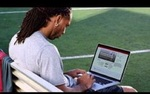 NFL star and University of Phoenix alumnus  Larry Fitzgerald is featured in a campaign that explains his reason for studying a Bachelor of Science in Communication.