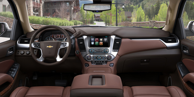 SiriusXM Satellite radio and HD radio are standard features of the 2016 Chevrolet Suburban.