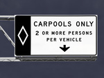 Making use of carpool options is a great way to limit your environmental impact.