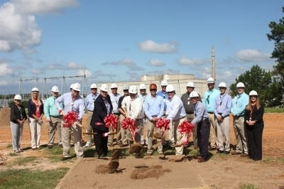 The groundbreaking of the Plant Hatch Energy Education Center Project.