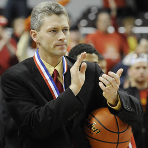 Rock Island High School head basketball coach Thom Sigel
