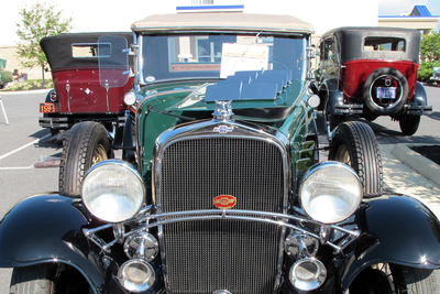 The Blue Flame Cruisers are a Bastrop area car club devoted to automotive culture and charity.