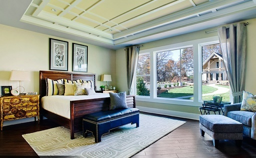 Schumacher's homes offer many features, including luxurious master suites.